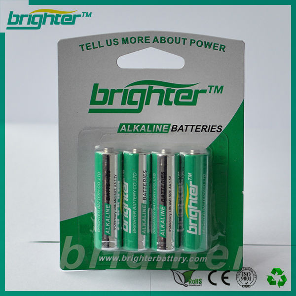 1.5v lr6 aa alkaline battery for quran mp3 player