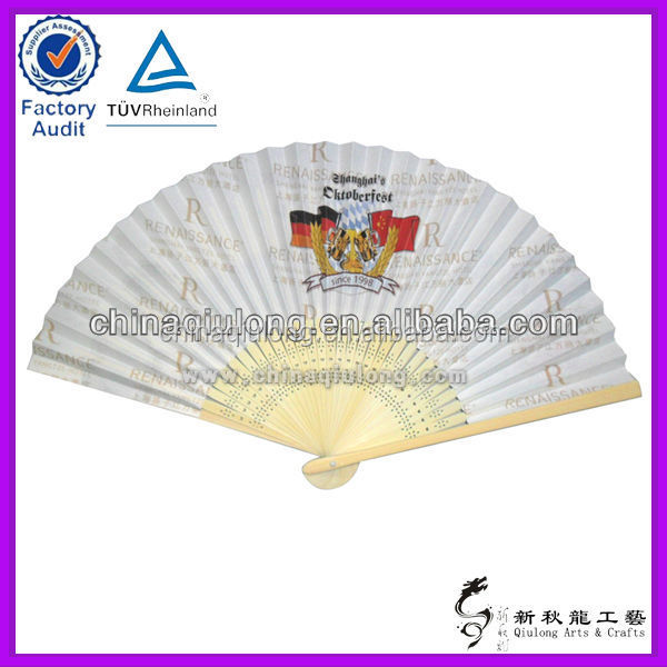 Bamboo Handicraft Products Promotional Japanese Fan