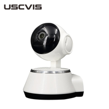 USC new model cctv home security wifi smart net motion detection ptz v380 ip camera that support 64gb to 128GB