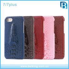 3D Crocodile Leather Pattern Back Phone Case For iPhone7 7Plus, Protective Cases For iPhone 7