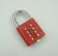 10 Digit Push Button Combination Padlock
