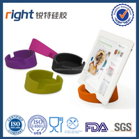 UNBreak and High temperature resistance ashtray or fashionable and environmental silicone mobile phone holder or stand