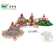 2017 Hot Commercial Plastic Outdoor Playground Equipment For Children