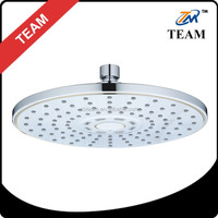 "9 "" multi-functions ABS Plastic chrome bathroom bath top overhead shower head bathroom design"
