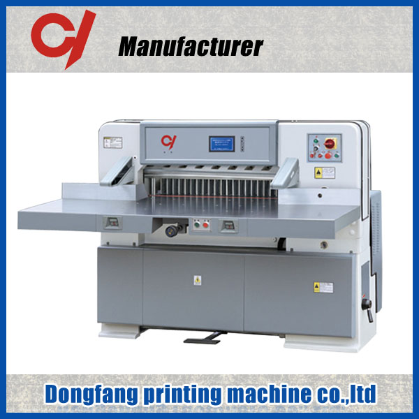 QZK 920 1300 1370 A3 IR protector guillotine machine how to make paper cutter