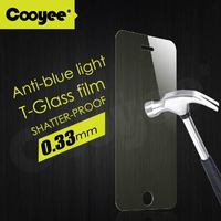 COOYEE Anti-Blue Light TEMPERED GLASS Screen Protector for Samsung Galaxy S5 - Crystal Clear