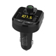 2018 New car bluetooth fm transmitter Hands free usb bluetooth car kit