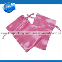 New Drawstring Gift Bags, Wholesale Colorful Silk Satin pouches
