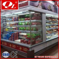 Low front series mini refrigerator convenience store counter