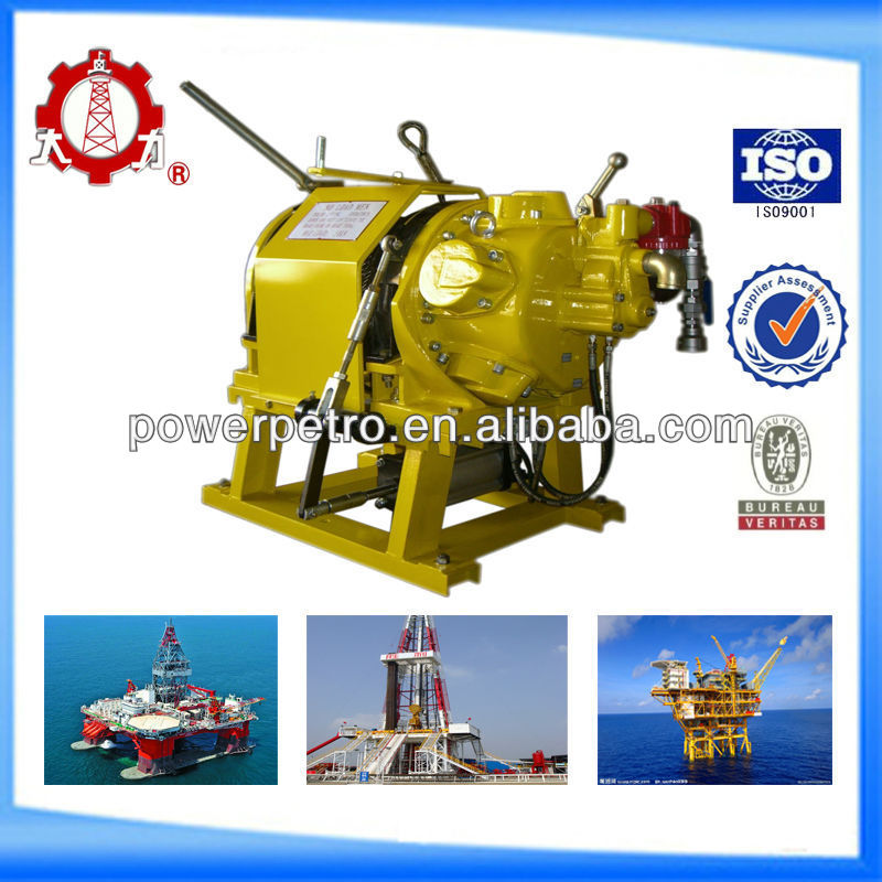 Offshore Drilling Rig Platform Air Winch with high performance