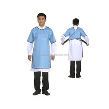 sleeveless nuclear radiation protective clothing