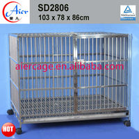 dog kennel stainless steel cage of nice quality