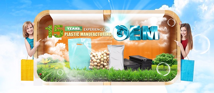 Factory directly industrial use disposable hdpe garbage plastic bag