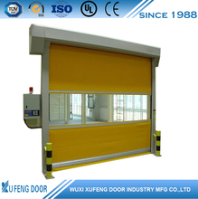 Auto Fast PVC Roller Shutter Door High Speed Door