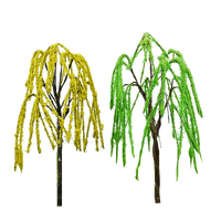 Green Weeping Willow Tree Architectural Mini