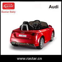 AUDI TTS 2.4G classic plastic children rastar baby ride on car With EN71 ASTM SGS