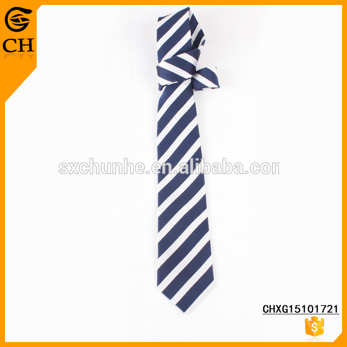 Newest Fashion Hot Selling Striped cheap school ties