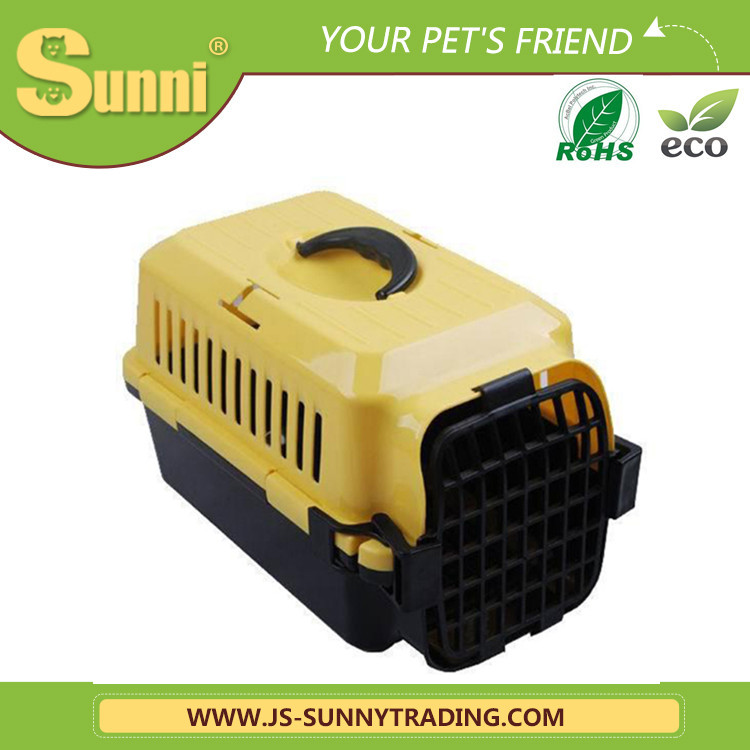 Pet transport box portable acrylic pet cage