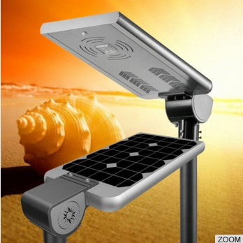 Hot sale 20W 25W 30W 35W 40W all in one integrated solar street Shopping mall garden plaza light