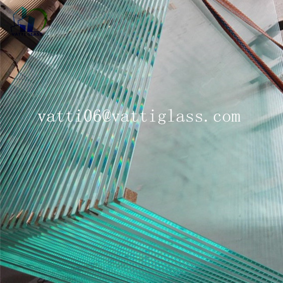Glass Factory In China Produce 9mm 10mm Thick Clear Tempered Glass Price For Tempered Glass Shower Wall Panels