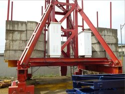 tower crane fixed chassis (4.5m*4.5m, 6m*6m)