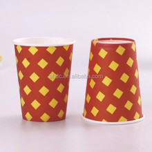 eco friendly printed paper 9 oz corn starch cup disposable