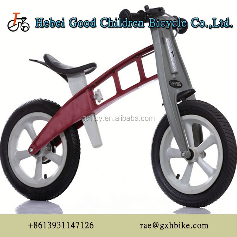 "Steel Rim Material and 12"" Wheel Size balance bike for kid"