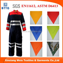 YSETEX make to order supplier best 100% Cotton Twill/Satin Flame Retardant twill Fabric satin twill fabric