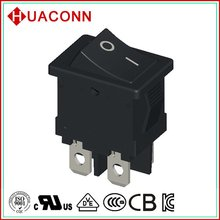 HS6-F5-6-04Q100-BB03 modern new products ac rocker switch with light
