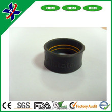 hot product Custom Design Silicone Rubber Finger/Thumb Rings For Gift