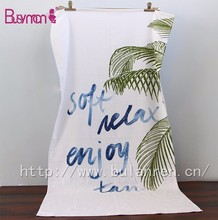 China manufacturer supplier printed cotton large beach towel custom