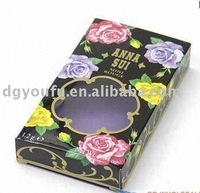 Beauty eye shadow box for cosmetic packing