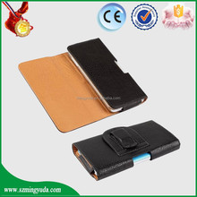 CE ROHS FCC leather case fit for IOS Android Windows cellphone