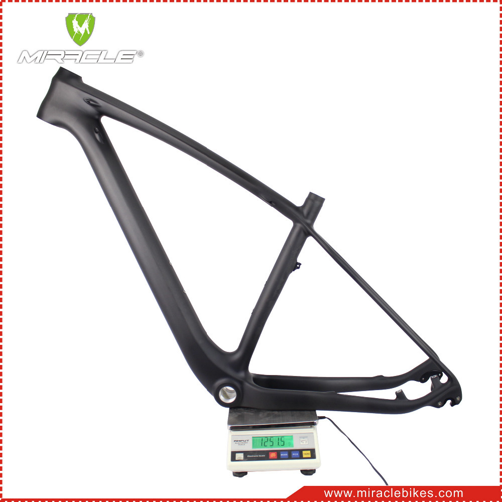 China wholesale 29 MTB frame full carbon fiber mountain bike frame thru axle frame