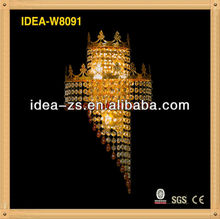 contemporary copper corded modern wall lamp