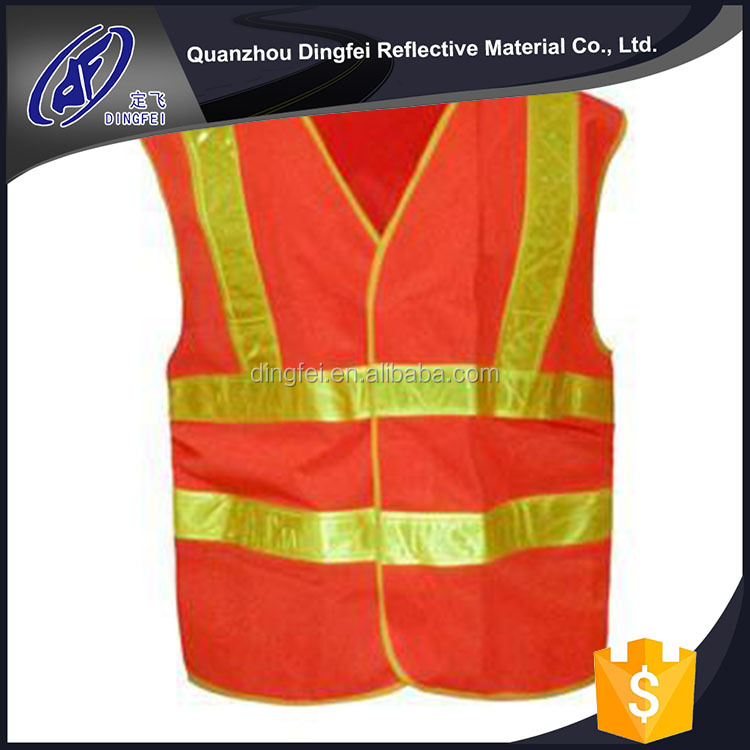 Factory Price Good Quality Baishun Hi Vis Blue Reflective Vest
