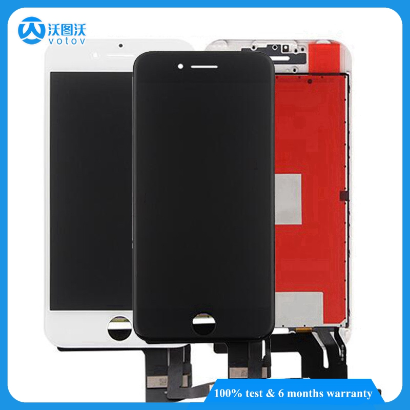 For Iphone 7 4.7 Inch New Original LCD Screen Display Front Touch Screen Digitizer 20 pcs Cell Phones LCD Smartphone Parts