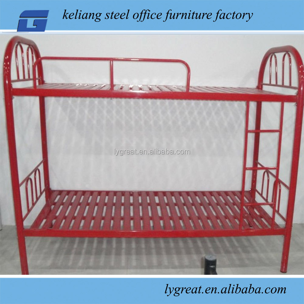 Steel double deck bed - Red Double Deck Bed For Metal Frame Double Beds Buy Red Double Deck Bed Metal Frame Double Beds Double Beds Product On Alibaba Com