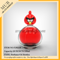 20/30/50/70/100ml Newest Design Child Cute Perfume Bottle,angry wholesale perfume bottles birds