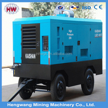 portable diesel engine driven air compressors with factory price