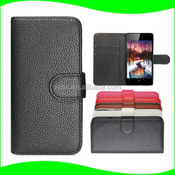 PU wallet mobile case for vodafone smart prime 6 vf895n,flip leather case cover for vodafone smart prime 6 phone cover