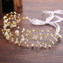 Wholesale bridal hair accessories boho head chains gold jewelries women head band