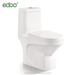 Durable Use ivory color toilet ceramic bathroom toilet bowl siphonic one-piece toilet factory