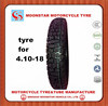Best price motorcycle tire and inner tube 4.10-18