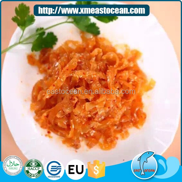 Wholesale high quality Japanese food frozen seasoned jellyfish