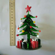 Best-selling Elegant Fashion Crystal Glass Christmas Tree For Christmas Decoration and Gift