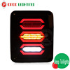 Newest Kiss Plug and Play Led jeep wrangler tail light