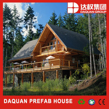 2015 China Supplier Log Cabins Prefab House Prefabricated Homes Green House