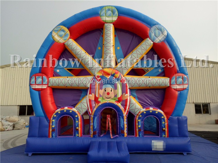 Ferris Wheel Combo Inflatable Jumper Bouncer Inflatable Sky Wheel Bouncy Castle Game