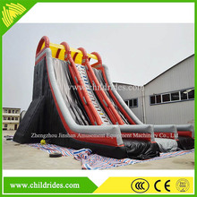 exciting inflatable pool water slide, giant inflatable water slide for adults